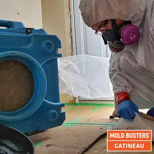 Remediation preparation - Gatineau