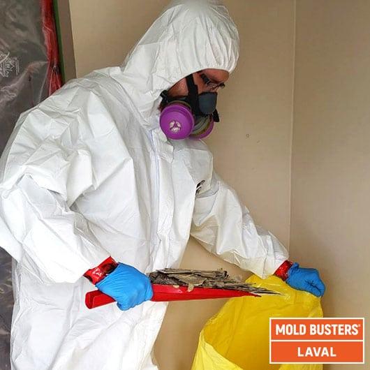 Asbestos removal - Laval