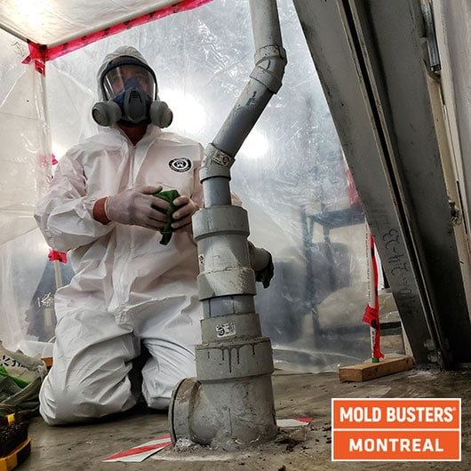 Active cleaning with containment - Montreal