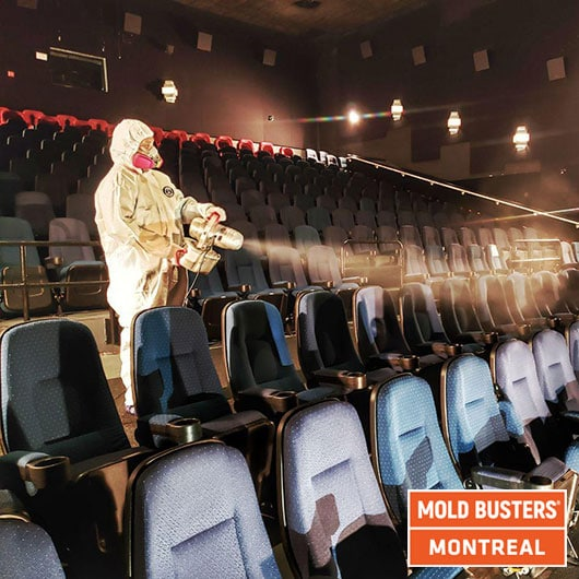 Movie theater remediation - Montreal