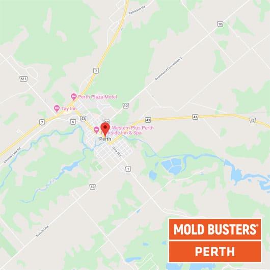 Perth Ontario map