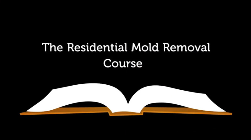 residential mold removal course