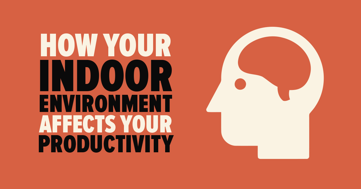How Your Indoor Environment Affects Your Productivity