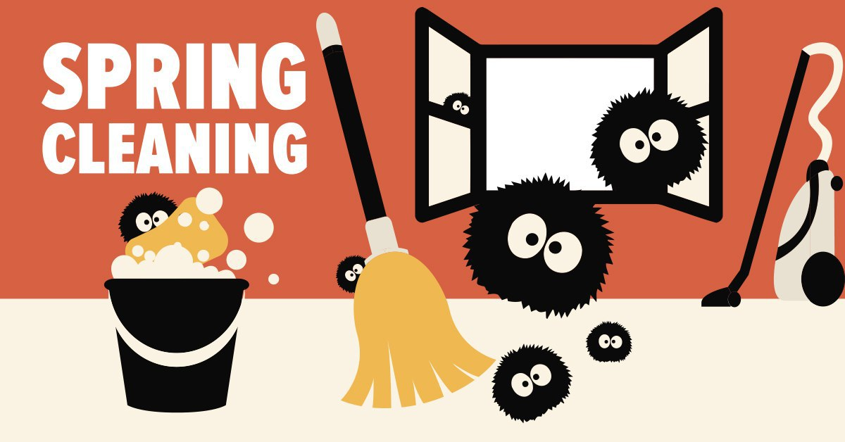 spring cleaning mold